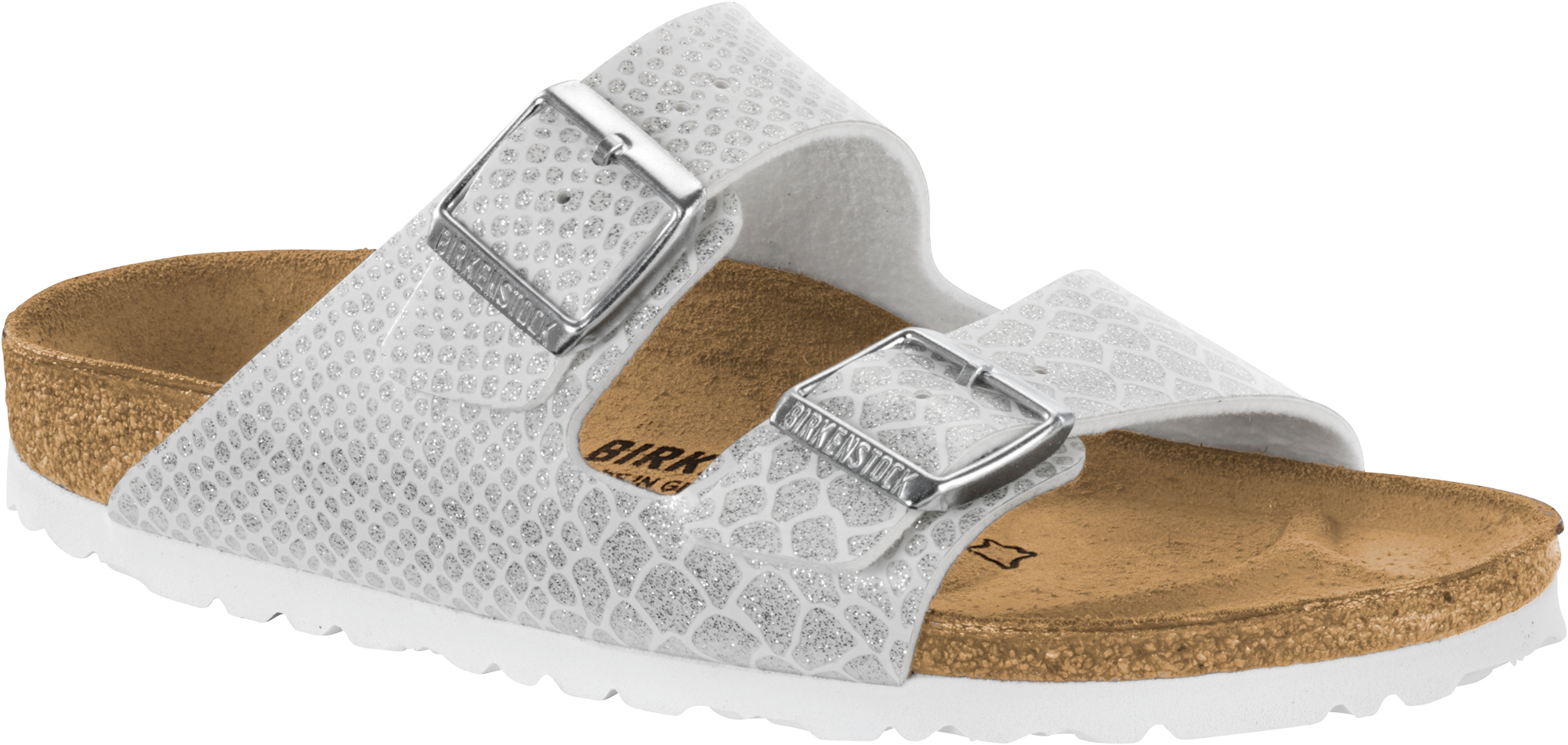 a608b5bbf3f19b Birkenstock Women s Arizona Magic Snake Strap Narrow Fit Sandals Uk3 White.  About this product. Picture 1 of 2  Picture 2 of 2