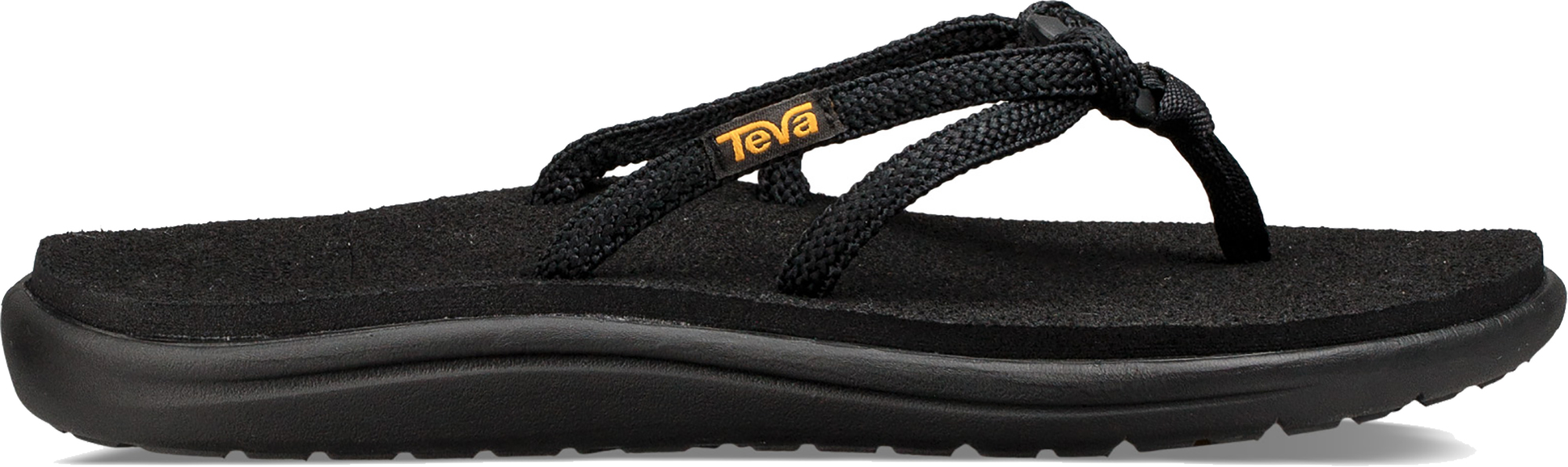 8e11cdb12d0cff Teva Women s Voya Tri-flip Flip Flops Comfortable Casual Style Uk4 Black.  About this product. Picture 1 of 5  Picture 2 of 5 ...