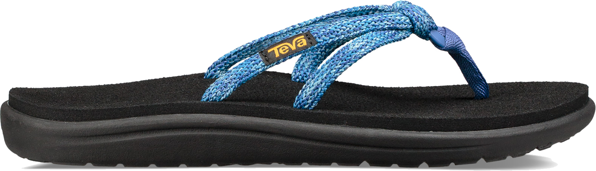 377b202b8dcd5 Teva Women s Voya Tri-flip Flip Flops Comfortable Casual Style Uk4 Blue  Multi. About this product. Picture 1 of 5  Picture 2 of 5 ...