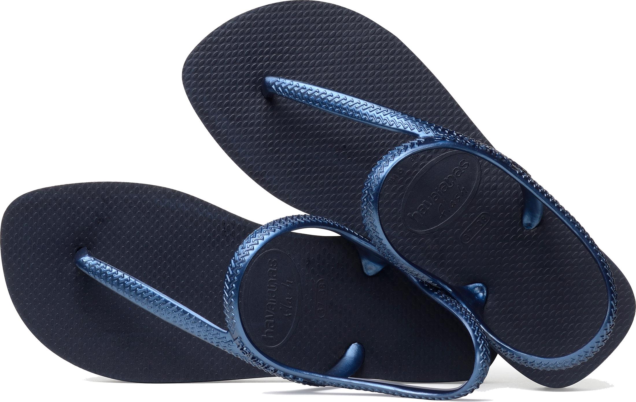 32bba5756 Havaianas Flash Urban Women s Flip Flops With Ankle Strap. Uk5 Navy ...