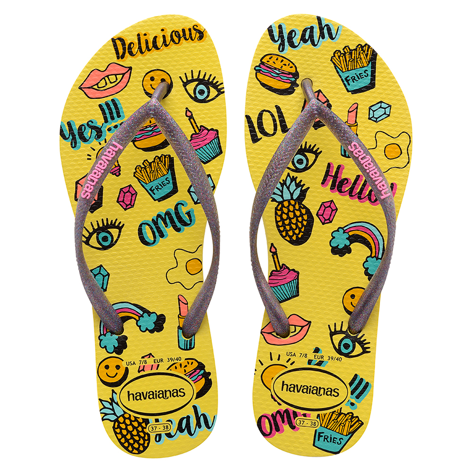 21a4cfada041 Havaianas slim Cool Flip Flops