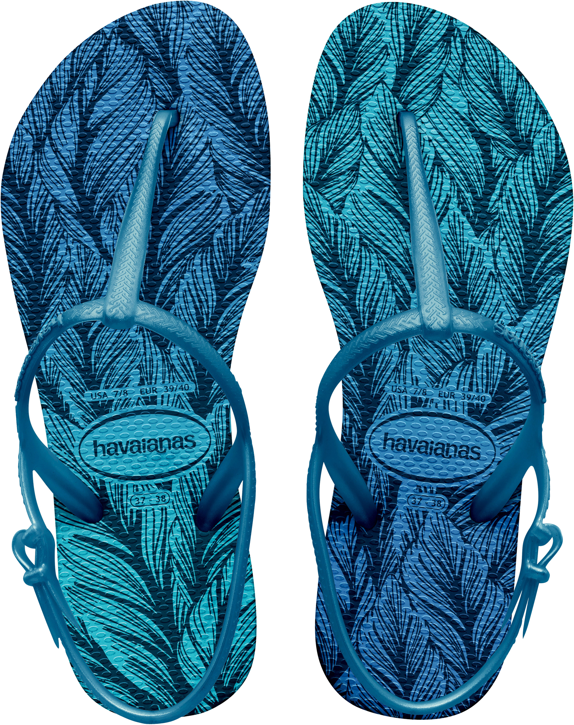 0b575a71cf7e5a Havaianas Women s Freedom Print Sandals With Heel Strap Uk5 Lavender Blue.  About this product. Picture 1 of 5  Picture 2 of 5 ...