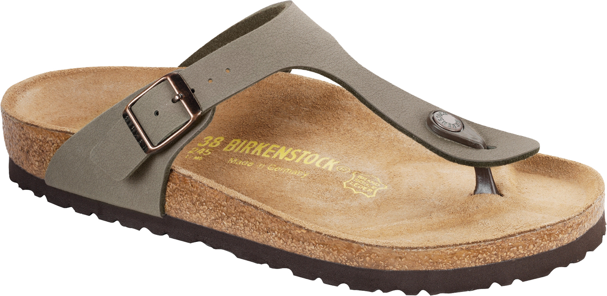 Birkenstock Gizeh Synthetic Nubuck Strap Sandales