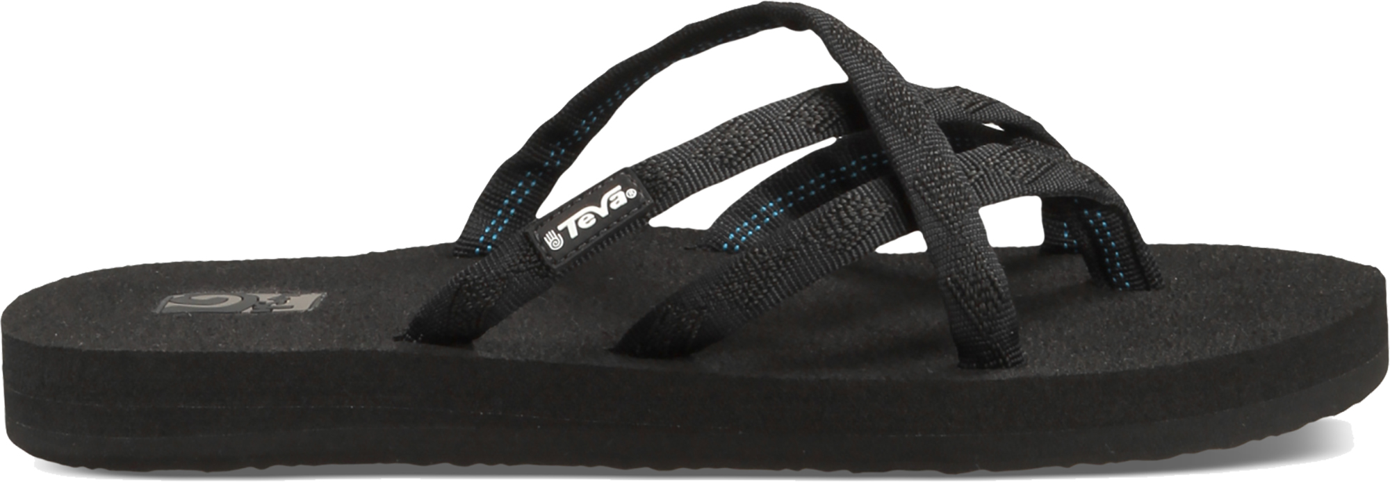 78d3cd4d7 Teva Olowahu Womens Footwear Sandals - Mix B Black on All Sizes UK 5. About  this product. Picture 1 of 5  Picture 2 of 5 ...