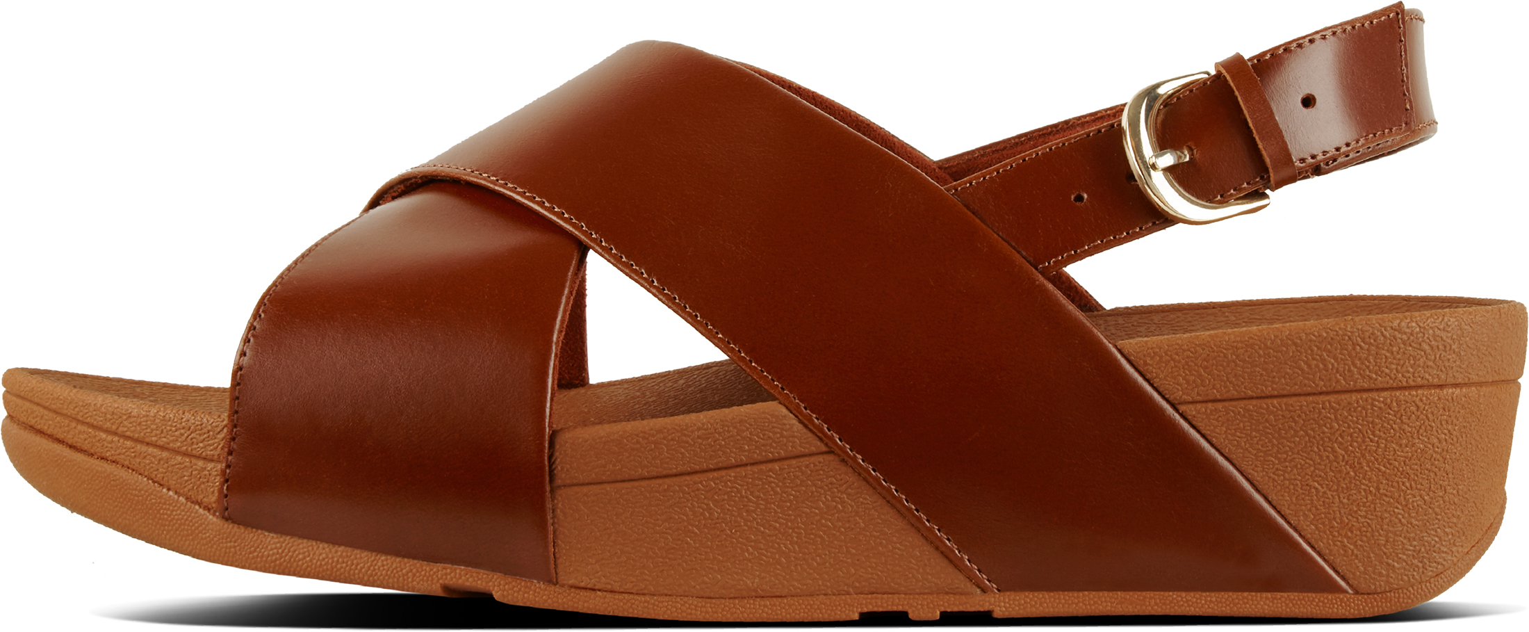 ed8e48735f12 FitFlop Women s Lulu Cross Back-strap Sandals Adjustable Heel Strap Uk5  Caramel. About this product. Picture 1 of 4  Picture 2 of 4  Picture 3 of 4  ...