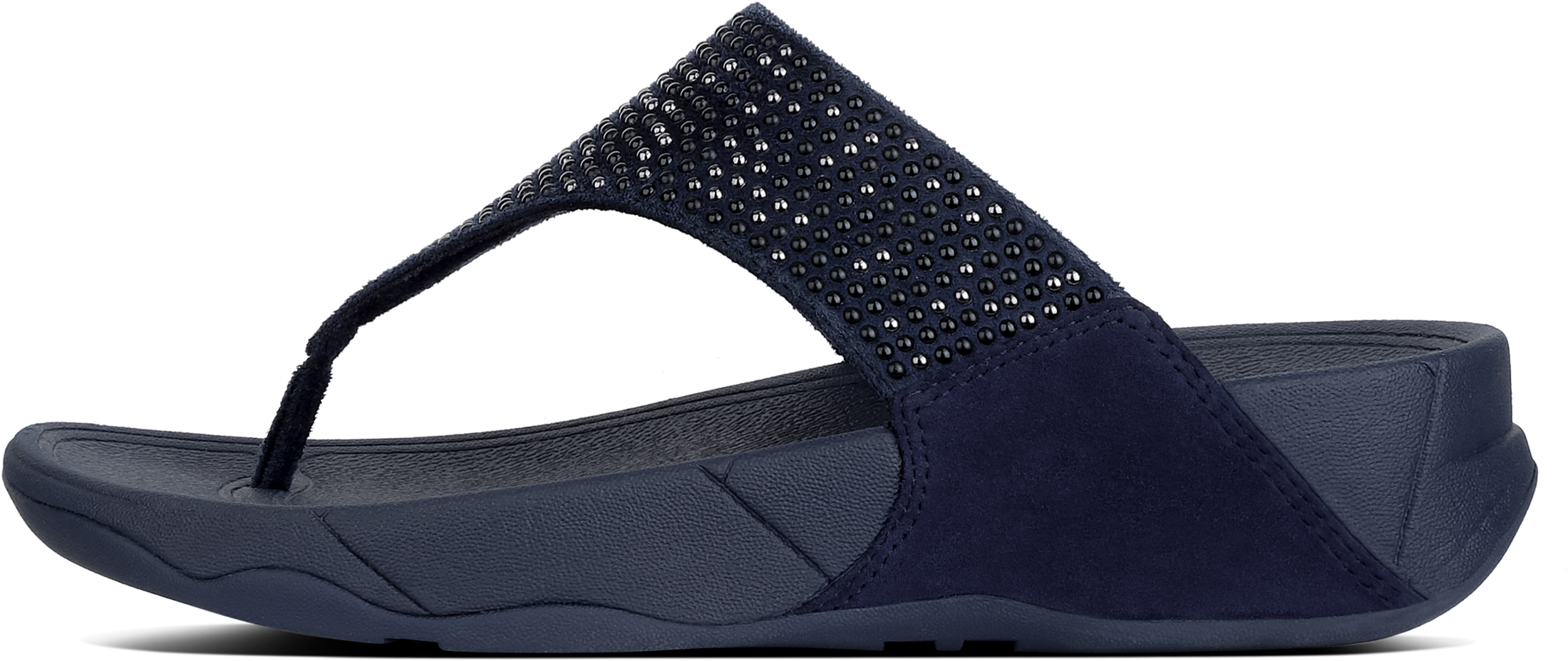 2deeff047a4 FitFlop Lulu Pop Stud Toe Post - Midnight Navy (textile) Womens Sandals 3  UK. About this product. Picture 1 of 4  Picture 2 of 4  Picture 3 of 4   Picture 4 ...