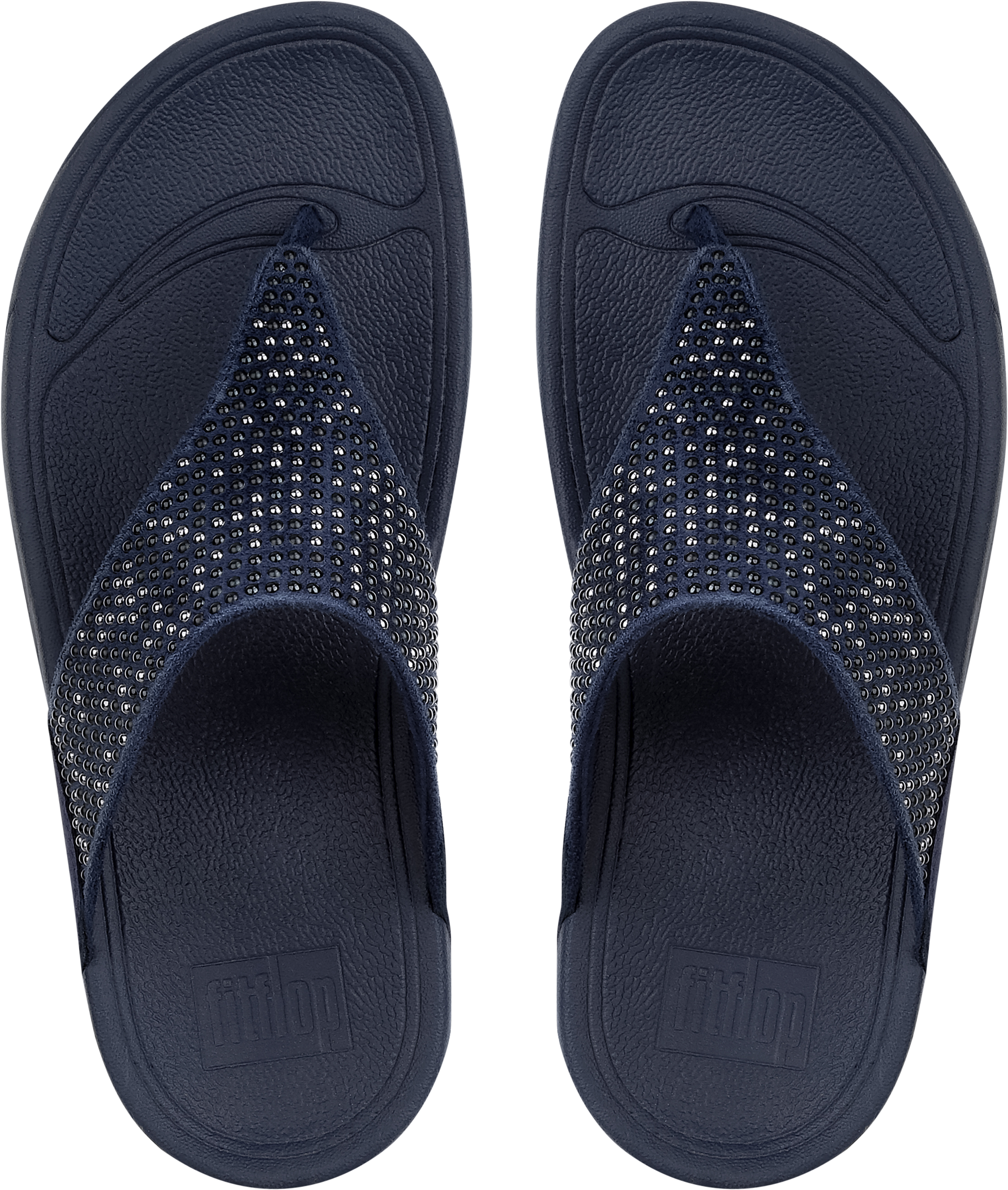5ef6e0e1920 FitFlop Lulu Pop Stud Toe Post - Midnight Navy (textile) Womens Sandals 3  UK. About this product. Picture 1 of 4  Picture 2 of 4  Picture 3 of 4 ...