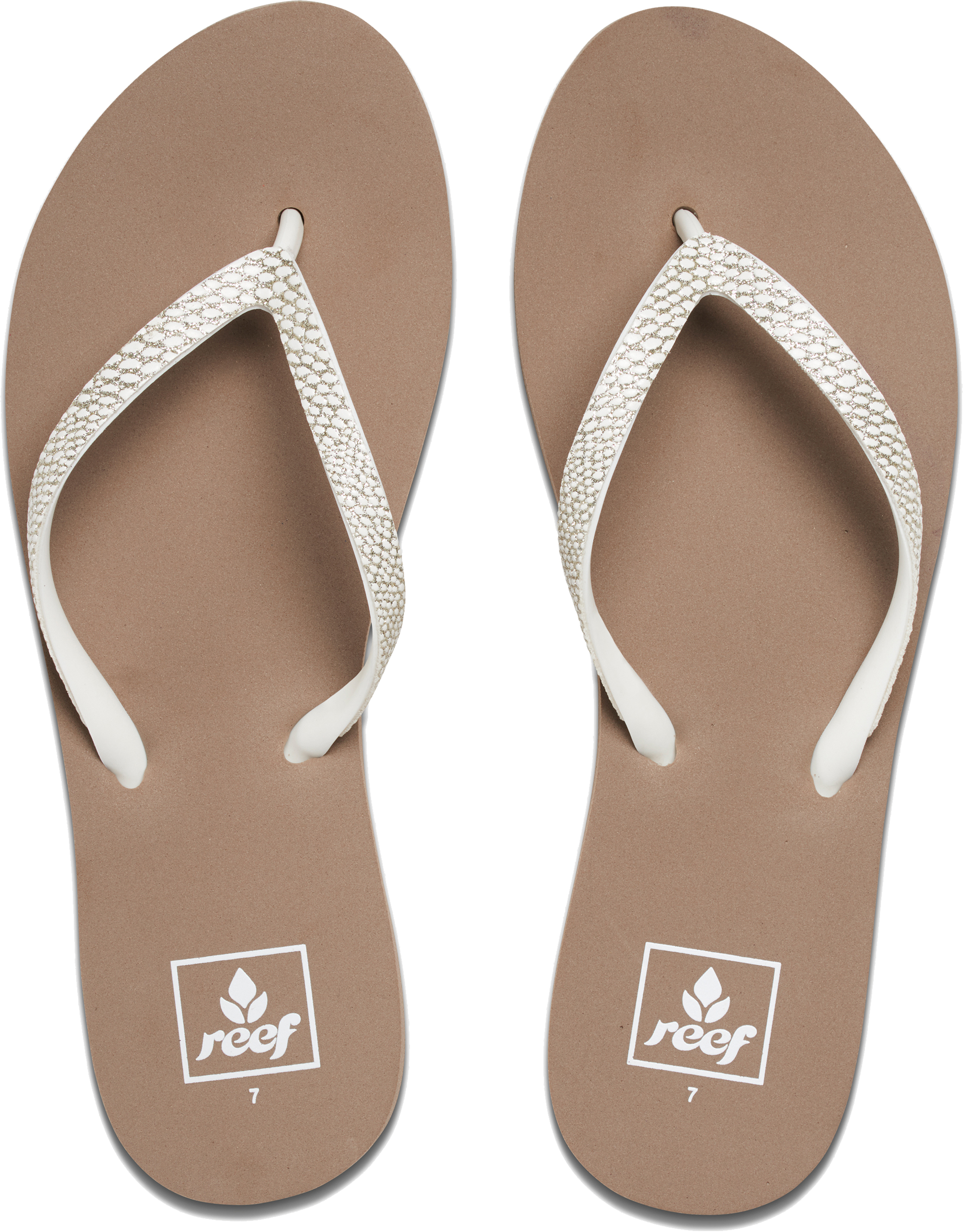 e0ab6b1f3 Reef Women s Stargazer Sassy Flip Flops PVC Strap Uk4 Taupe Grey. About  this product. Picture 1 of 5  Picture 2 of 5 ...
