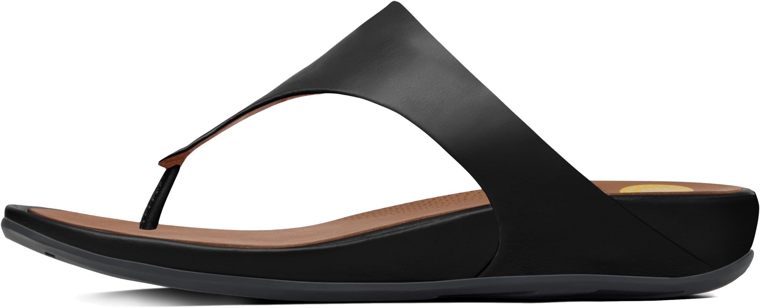 New Sandal Elegant Women's silver Black Banda Fitflop EqtwII