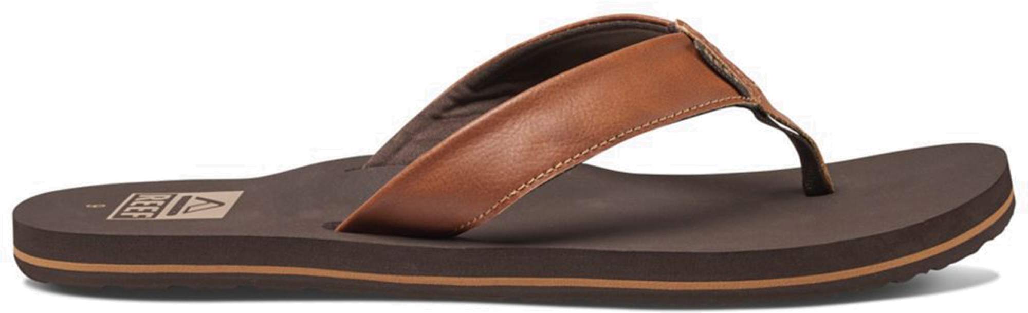 be7cc2ba9500 Mens Reef TWINPIN Brown Vegan Flip Flops Size EU 45 US 12 UK 11. About this  product. Picture 1 of 4  Picture 2 of 4  Picture 3 of 4  Picture 4 of 4