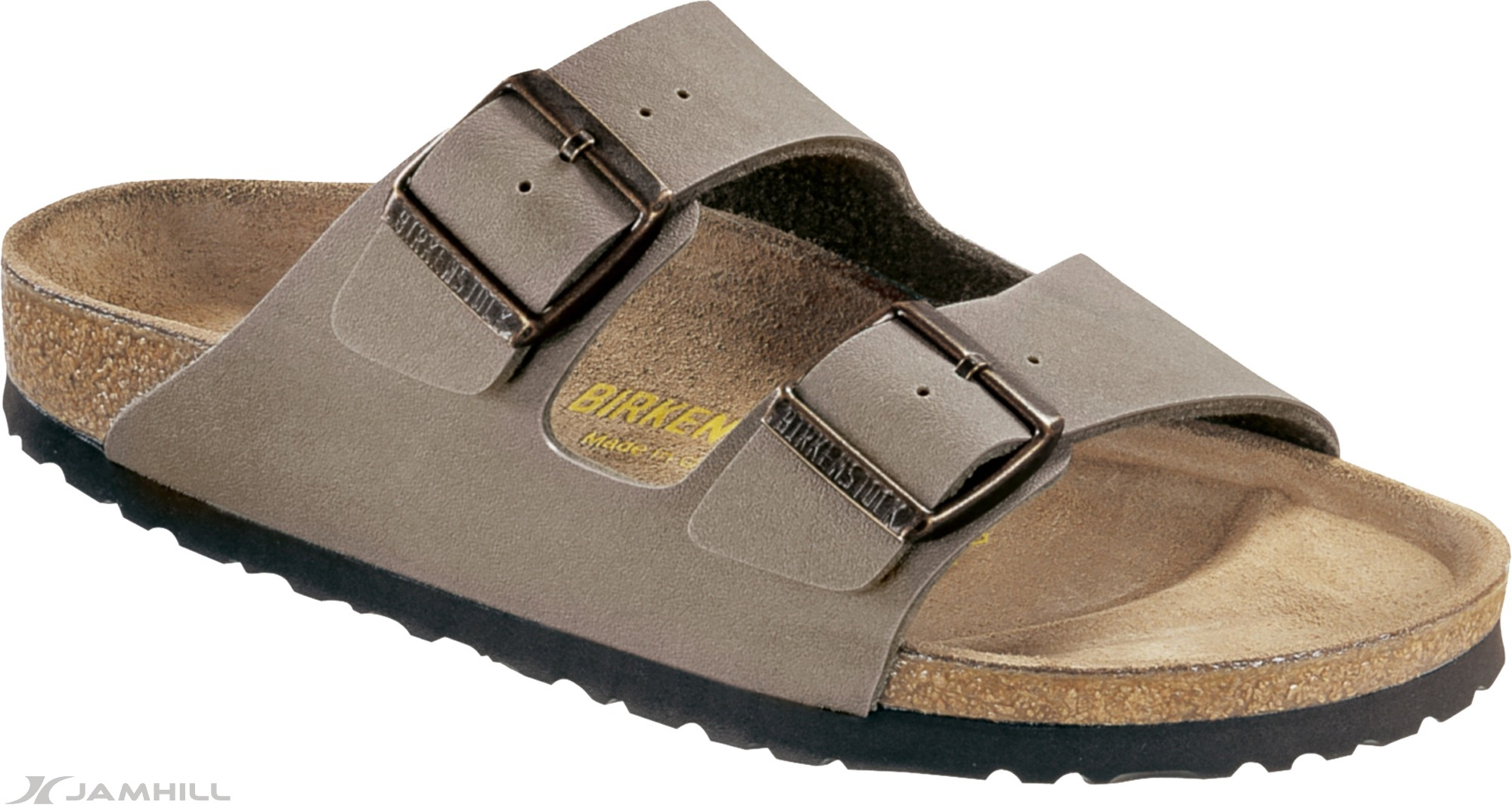 Birkenstock-Arizona-Synthetic-Nubuck-Strap-Narrow-Fit-Sandals-Adjustable-Straps